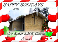 New Bethel A.M.E Post Card front revised